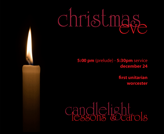 Christmas Eve Services: Candlelight Lessons & Carols at First ...